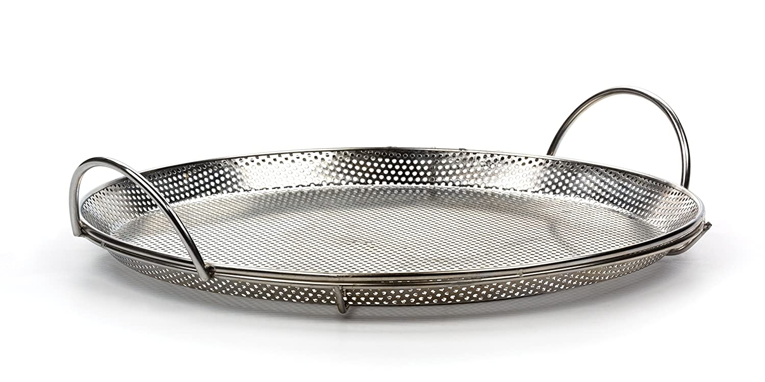 RSVP Endurance 18/8 Stainless Steel Precision Pierced Pizza Pan (BQ-PZA)