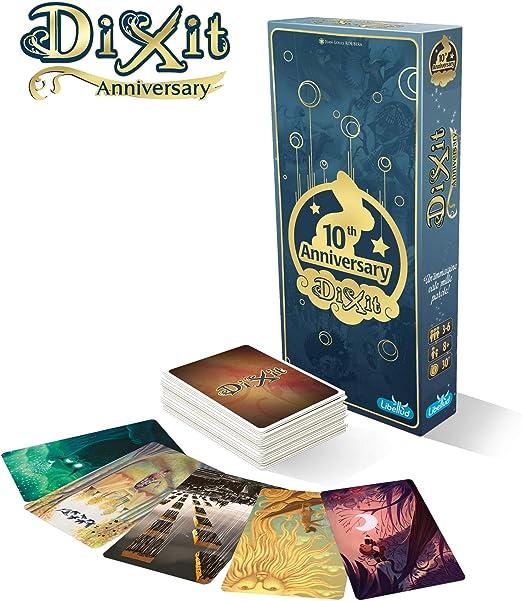 Asmodee Italia Dixit Anniversary, Juego de Mesa, Color, 8013: Amazon.es: Juguetes y juegos
