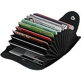 KABSA – Elegantes Kreditkartenetui – hochwertige Geldbörse aus Leder – praktisches Portemonnaie und Kreditkartenhalter für den modernen Mann