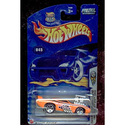 Hot Wheels 2003-045 First Edition 33/42 1969 Pontiac GTO Judge Highway 35 Card 1:64 Scale 1:64 Scale: Toys & Games
