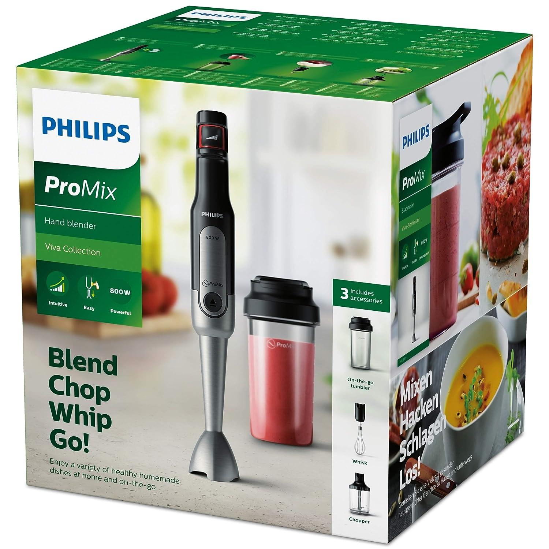 Philips Batidora de mano ProMix HR2652/90 varilla, 800 W, De ...