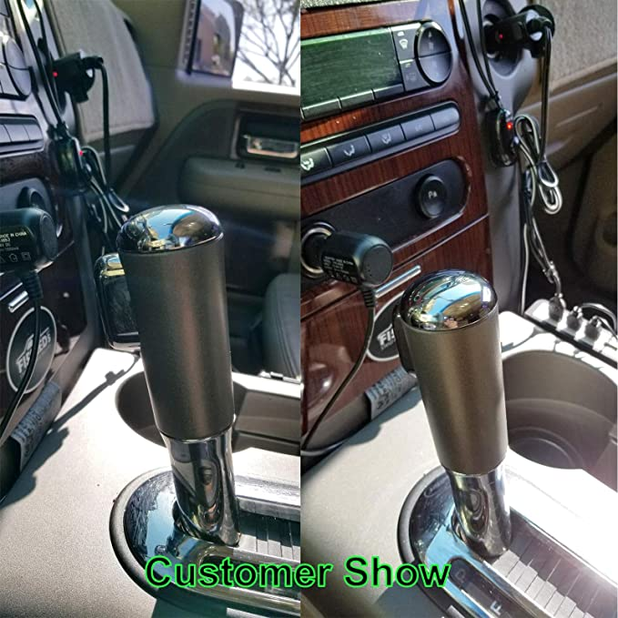 1PC F-150 Shifter Knob Chrome Cap for 2004 2005 2006 Ford F-150 Easy to install