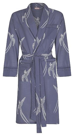 5dddb02d12 Men s Cotton Dressing Gown Robe Lightweight 100% Organic Cotton.  Hand-Printed
