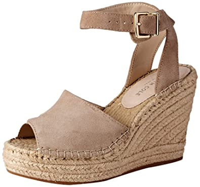 867e99bbbcb Kenneth Cole New York Women's Olivia Two Piece Espadrille Wedge Sandal