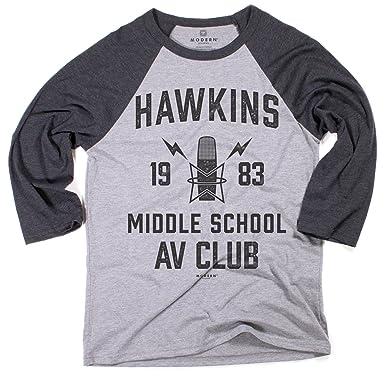 Superluxe Clothing Mens Unisex Hawkins Middle School Av Club