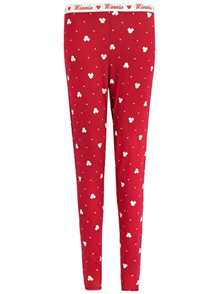 Disney Minnie Mouse - Pantalones del pijama para mujer - Minnie Mouse - X-Small