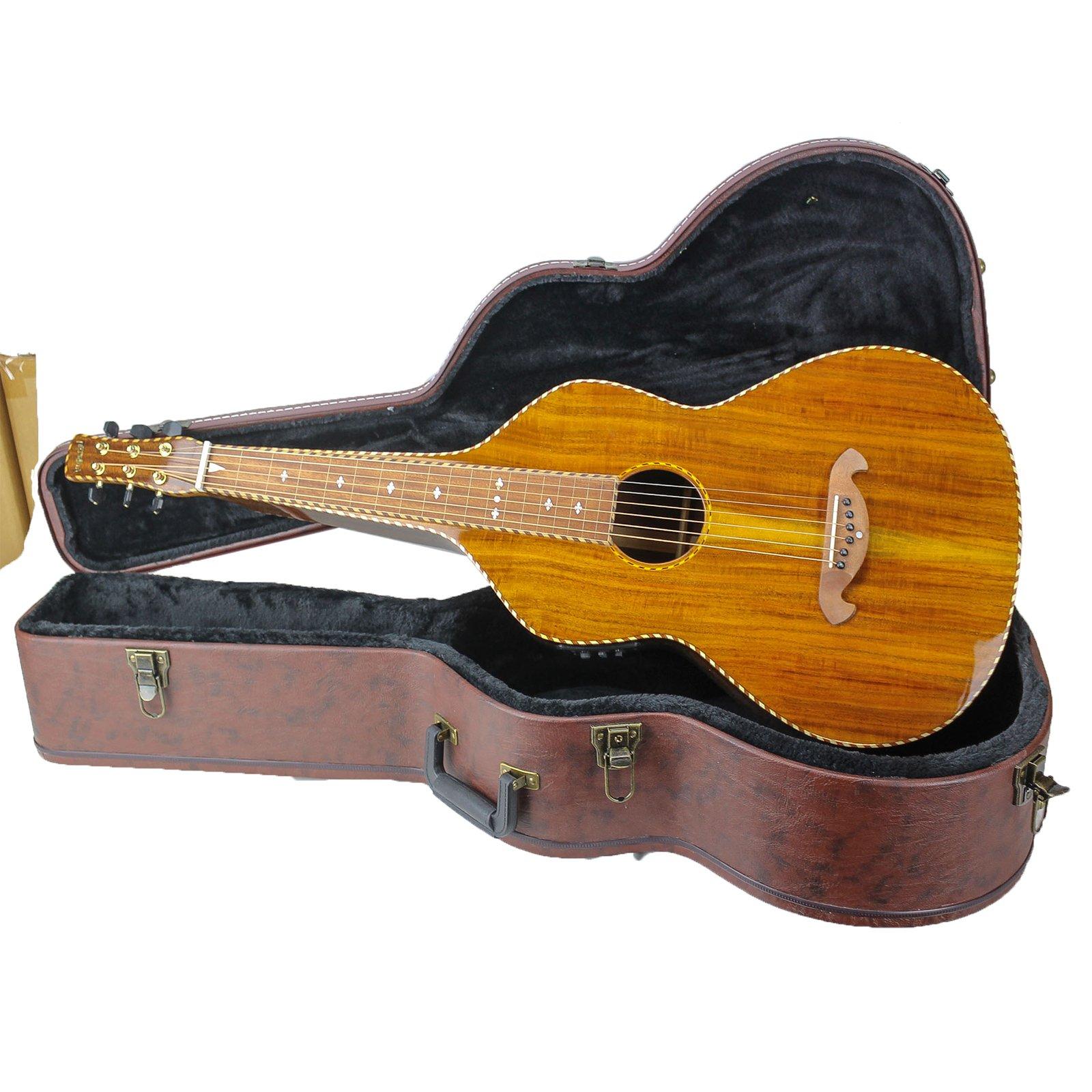 Imperial Royal Hawaiian Koa Kani Extra Deep Weissenborn Style Lap Steel Guitar
