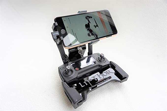 429facb354b Image Unavailable. Image not available for. Color: LifThor MP , Mobile  Phone holder for DJI Mavic Pro / Air / Spark