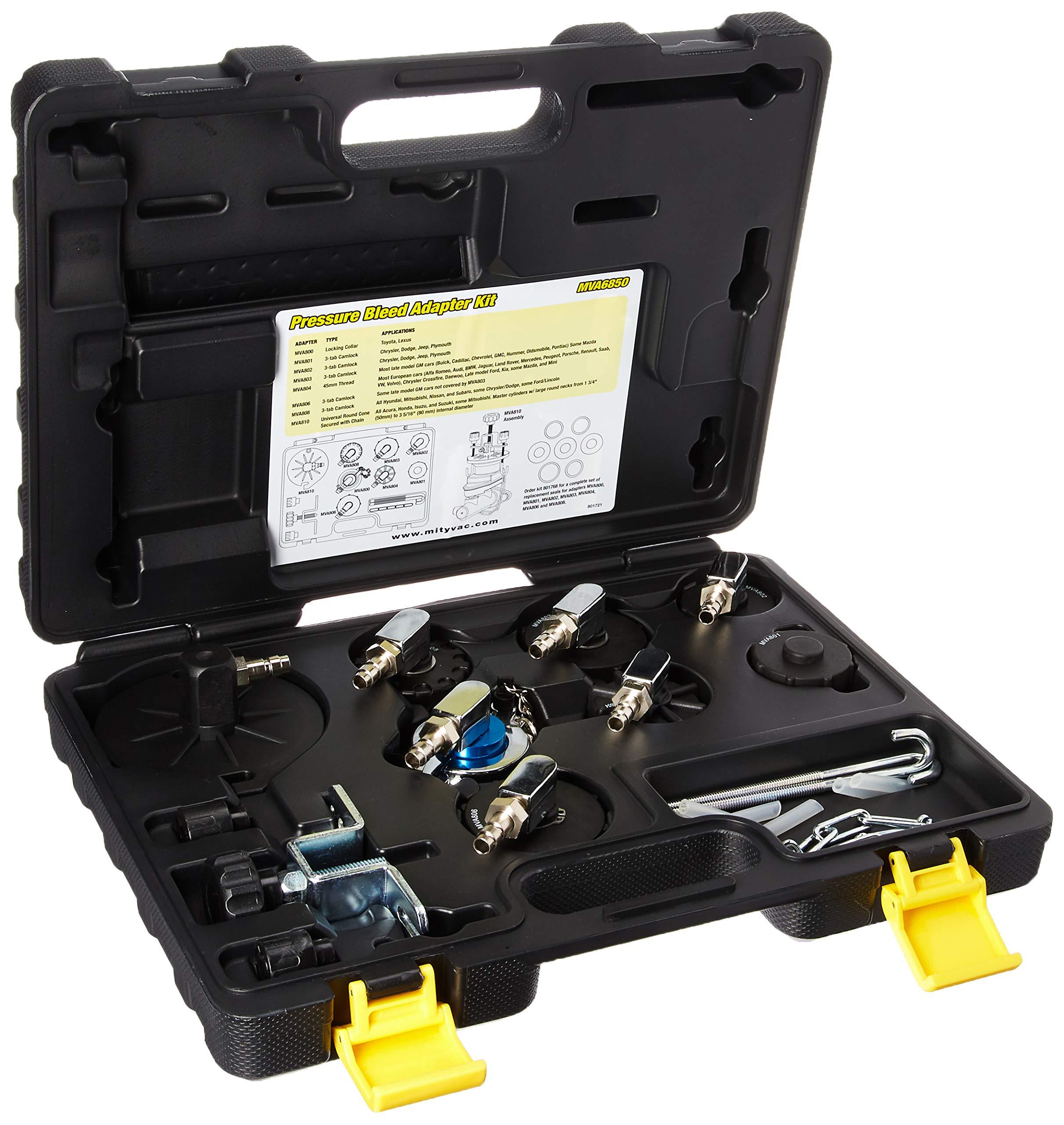 Mityvac MVA6850 Pressure Bleed Adapter kit by Mityvac (Image #3)