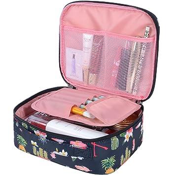 2b73ffb19b82 Travel Makeup bags Cosmetic Case Organizer Portable Storage Bag Cosmetics  Make up Brushes...