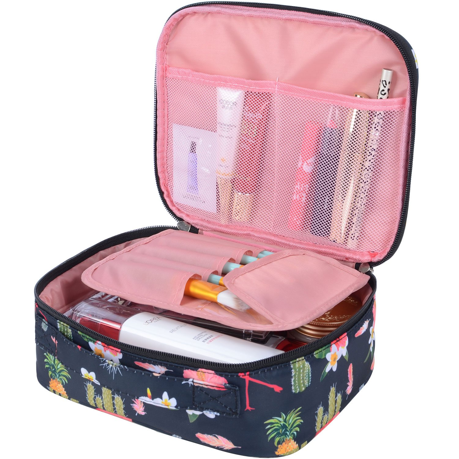 Portable Travel Makeup Cosmetic Bag Organizer Multifunction Case for Women (Color27)
