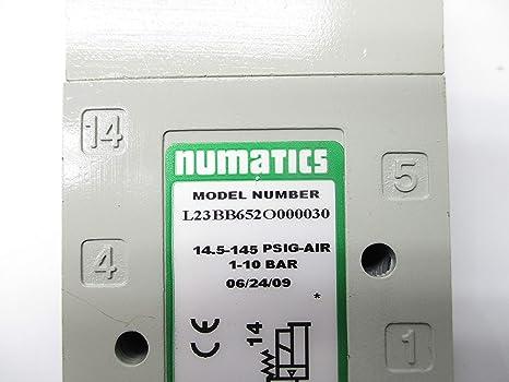 NUMATICS L23BB652O000030 14.5-145PSIG NSNP