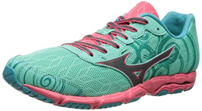 Mizuno Women's Wave Hitogami 2 Running Shoe, Florida Keys/Turbulence, ...