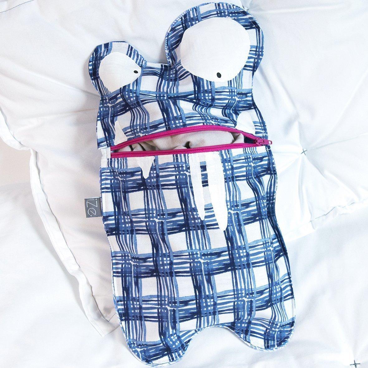Range Pyjamas MONSTRE GROS YEUX BleuC