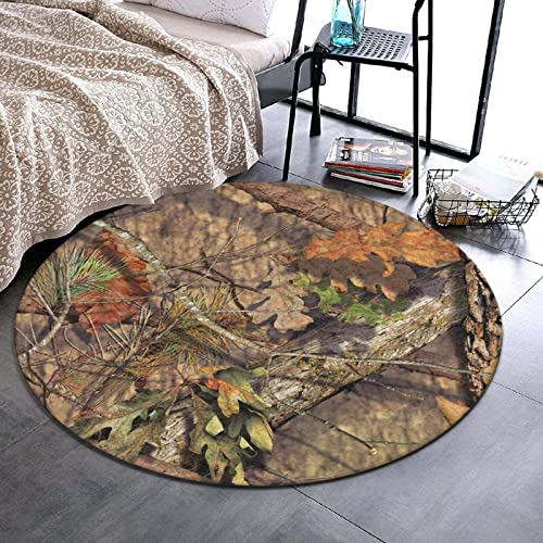NiYoung Fashion Ultra Soft Non-Slip Round Area Rugs Durable Indoor Throw Area Rug Circle Carpet