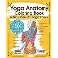 Image for Yoga Anatomy Coloring Book: A New View At Yoga Poses