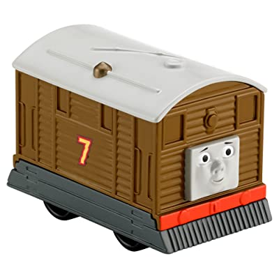 Thomas & Friends Fisher-Price My First, Push Along Toby Train: Toys & Games
