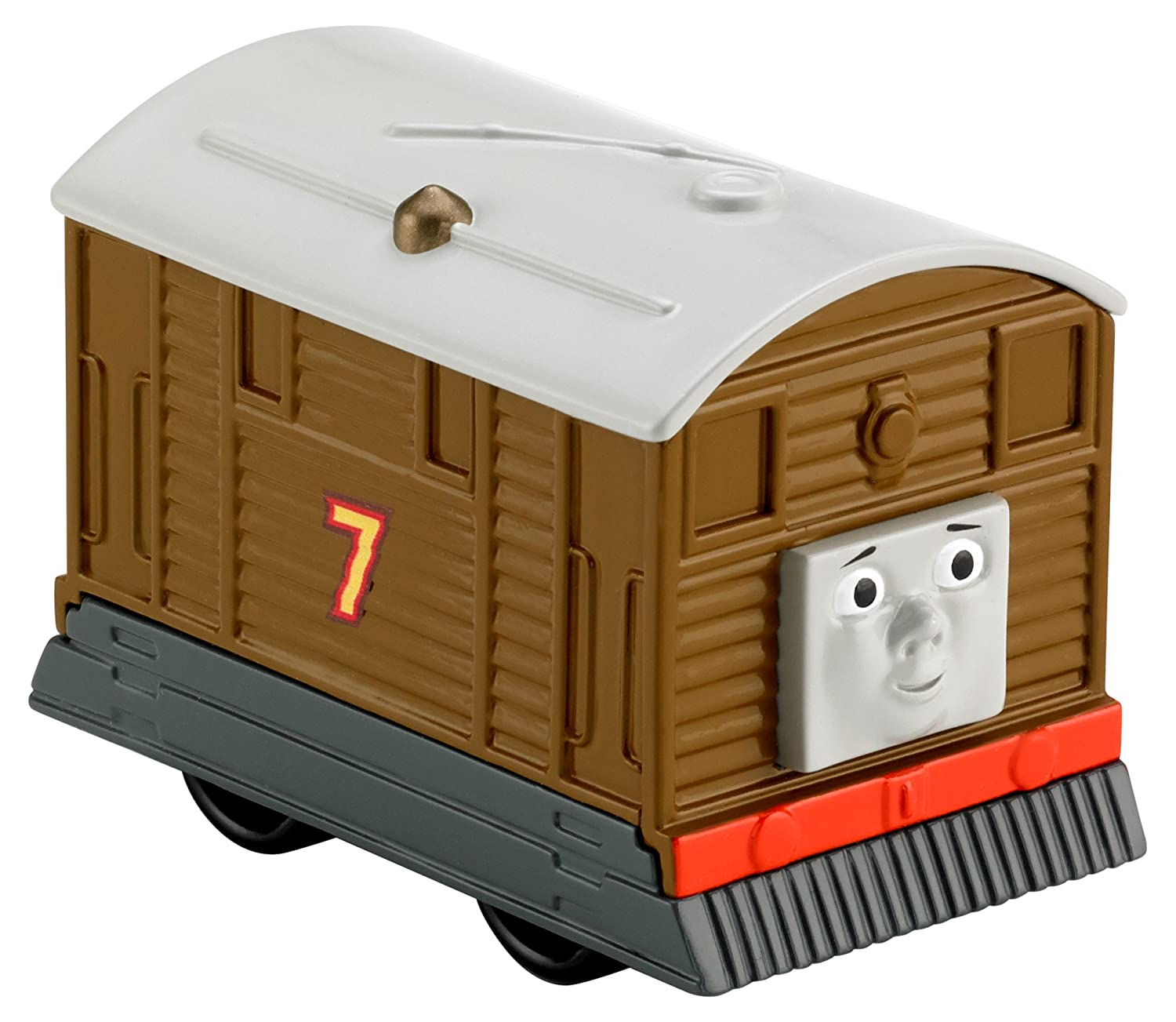 Amazon.com: Thomas & Friends Fisher-Price My First, Push Along Toby ...