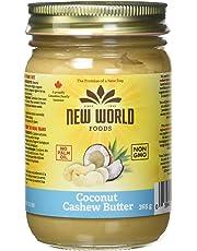 New World Foods Cashew Coconut Butter, Natural, 365g