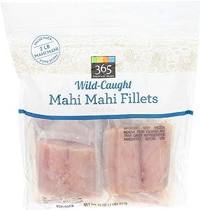 365 Everday Value, Wild-Caught Fish, Mahi Mahi Fillets, 32 Ounce (Frozen)