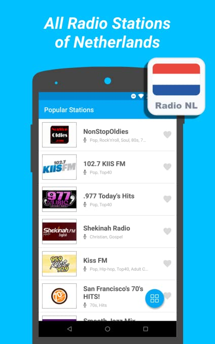 Amazon com: Radio Netherlands - All Radio Stations, Tunein
