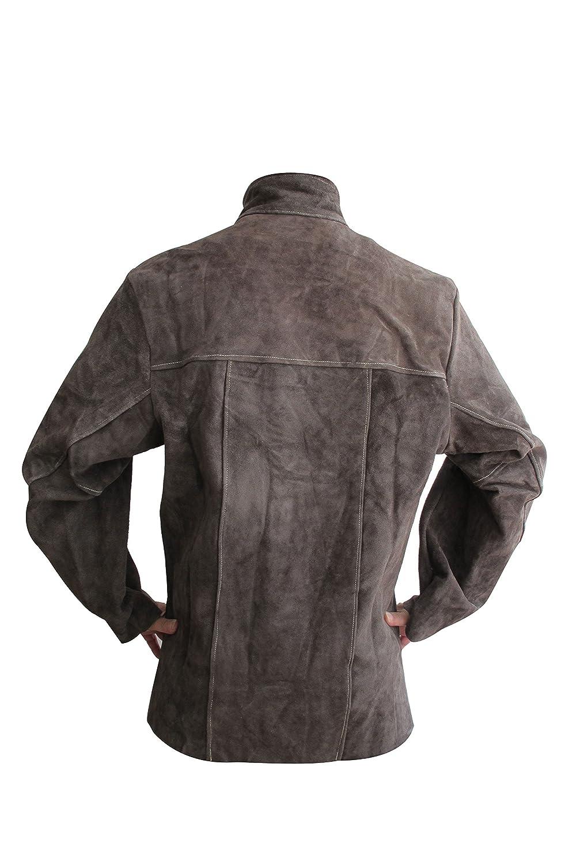 Full con una chaqueta de cuero