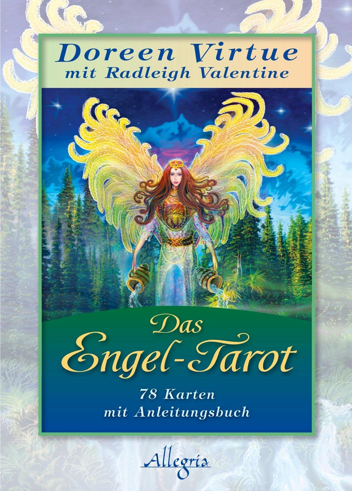 Das Engel-Tarot: Kartendeck Gebundenes Buch – 8. Juni 2012 Doreen Virtue Radleigh Valentine Angelika Hansen Allegria