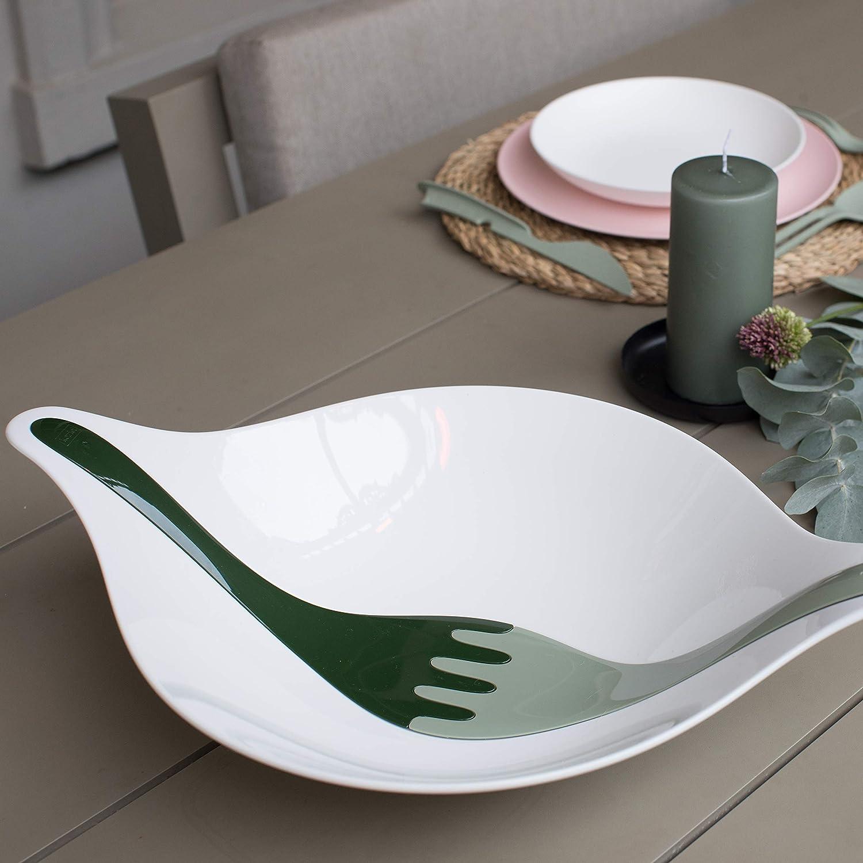 Koziol 3805655 PALSBY Bowl M Eucalyptus Green