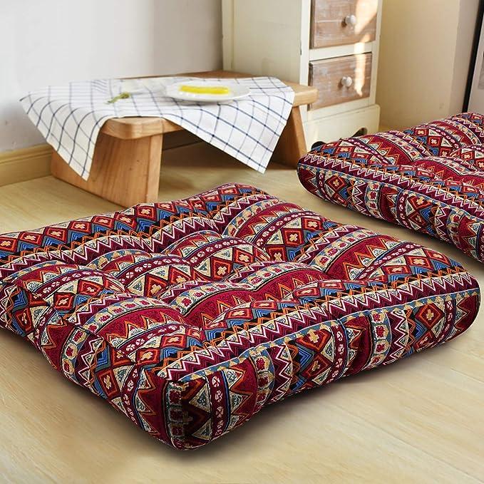 Higogogo Bohemian Floor Pillow