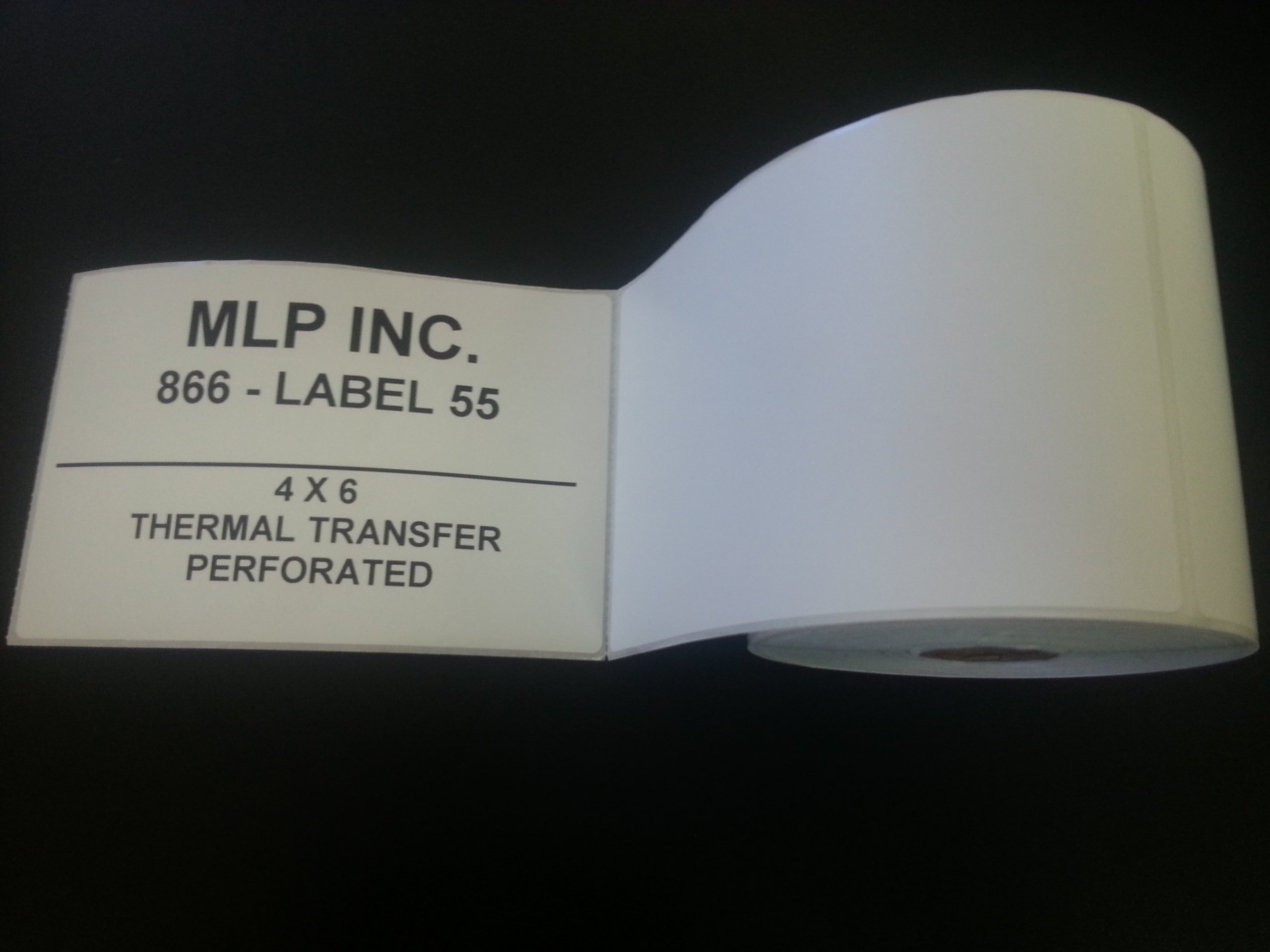 20 Rolls - Direct Thermal 4 x 6 Labels - 5000 total, for Zebra, Eltron, and Samsung Printers