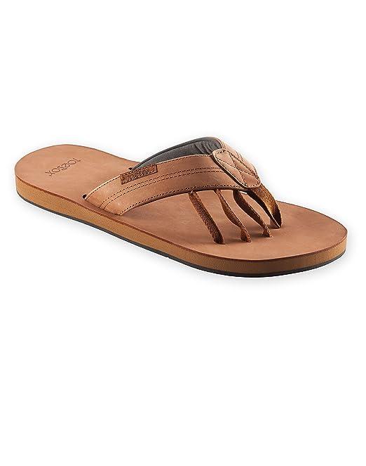 Toesox - Sandalias de Piel de Cinco Dedos para Yoga, Surf y ...