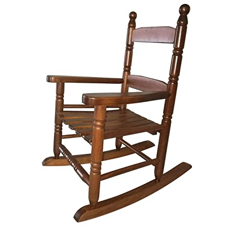 Remarkable Rockingrocker K10Nt Natural Wood Childs Rocking Chair Porch Rocker Indoor Or Outdoor Suitable For 1 To 4 Years Old Frankydiablos Diy Chair Ideas Frankydiabloscom
