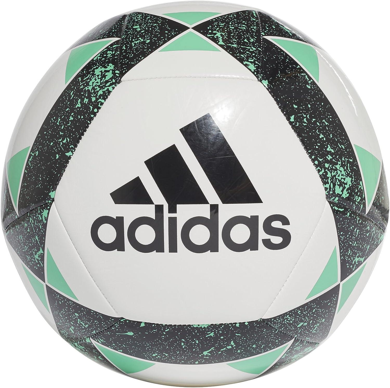 adidas Starlancer V Balón, Hombre, Multicolor (Negro/vealre), 4 ...