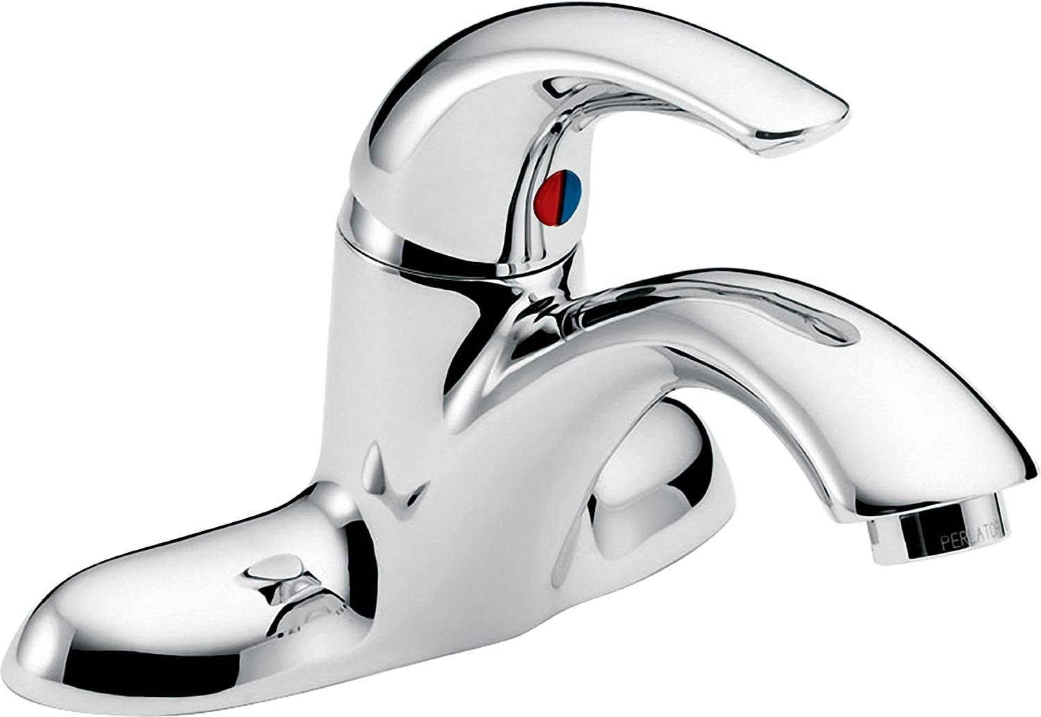 Delta Faucet 22C101 22T Less Pop Up Single Handle Centerset Bathroom Faucet,  Chrome   Touch On Bathroom Sink Faucets   Amazon.com