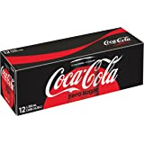 Coca-Cola Zero Sugar, 355mL cans, 12ct, Imported from Canada