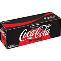 Coca-Cola Zero Sugar, 355mL cans, Pack of 12