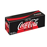 Coca-Cola Zero Sugar, 355mL cans, Pack of 12