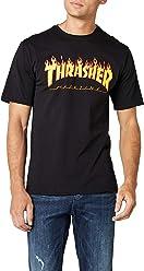fa05f8c793ba Thrasher Flame Short Sleeve T-Shirt
