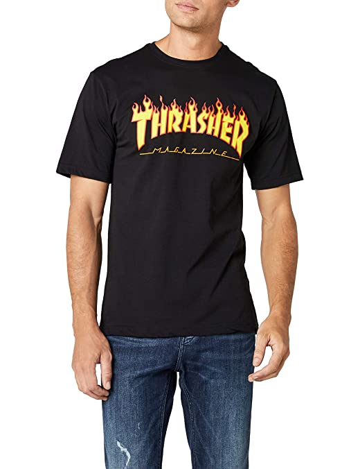 Thrasher Flame Short Sleeve T-Shirt