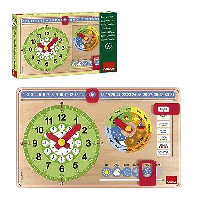 Goula - Reloj Calendario catalán (51316): Juguetes y juegos