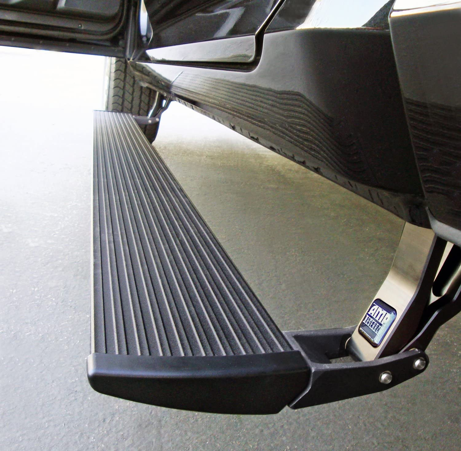 AMP Research 76235-01A Black Running Board (PowerStep Plug N' Play System for Ford Super Duty)