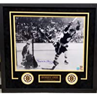 $199 » Bobby Orr Boston Bruins Signed Autograph Custom Framed 16x20 Suede Matted to 26x28 Photo Photograph Great North Orr Hologram &…