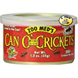 Zoo Med Can O' Crickets Insect Food, 1.2-Ounce (Pack of 3)