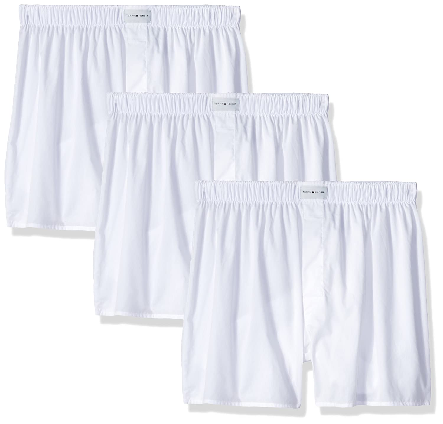 Tommy Hilfiger mens standard Underwear 3 Pack Cotton Classics Woven  09TV063