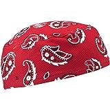 Ergodyne 6630 High-Performance Skull Cap, Red Western
