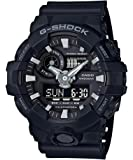 Casio G-Shock Analog Digital Men's Watch GA-700-1B / GA-700-1BDR (Black x Black)