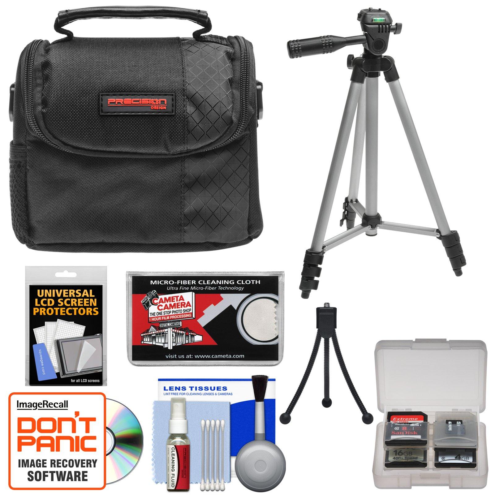 Sony CyberShot Digital Cameras Accessory Kit with Camera Case & Tripod for DSC-H70, T99, TX9, TX10, W560, W570, WX5, WX9, WX10