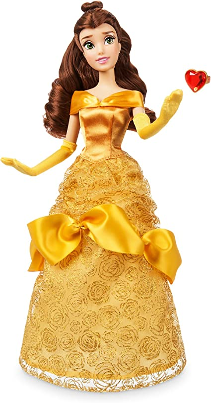 Amazon Com Disney Belle Classic Doll With Ring Beauty And The Beast 11 Inches Toys Games