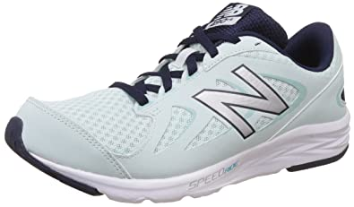 9559380c new balance Women's 490 V4 Green and Silver Running Shoes - 5.5 UK ...