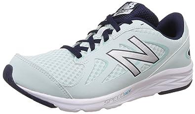 Balance Womens 490v4 Running Shoe Droplet/Silver 8.5 B US